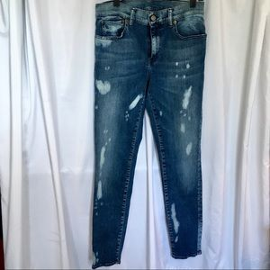 Polo Tompkins Skinny Distressed Jeans 29